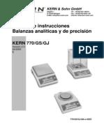 Balanza Kern Manual