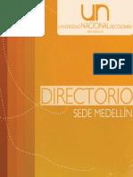Directorio Telefonico Sede Medellin 2011