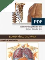Examen Físico del Tórax
