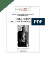 CATALOGO COLECCION CARLOS IVAN DEGREGORI