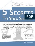 5 Secrets to Yoga Success - Yogacharya