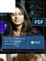 2010-2011 Faculty of Business and Information Technology Viewbook