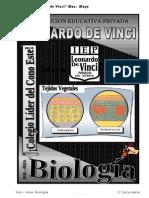 1º 2. MAYO -  BIOLOGIA tejidos -reinos- 1RO