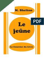 Le jeûne - H.M. Shelton