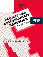 PROJECT AND COST ENGINEERS' HANDBOOK