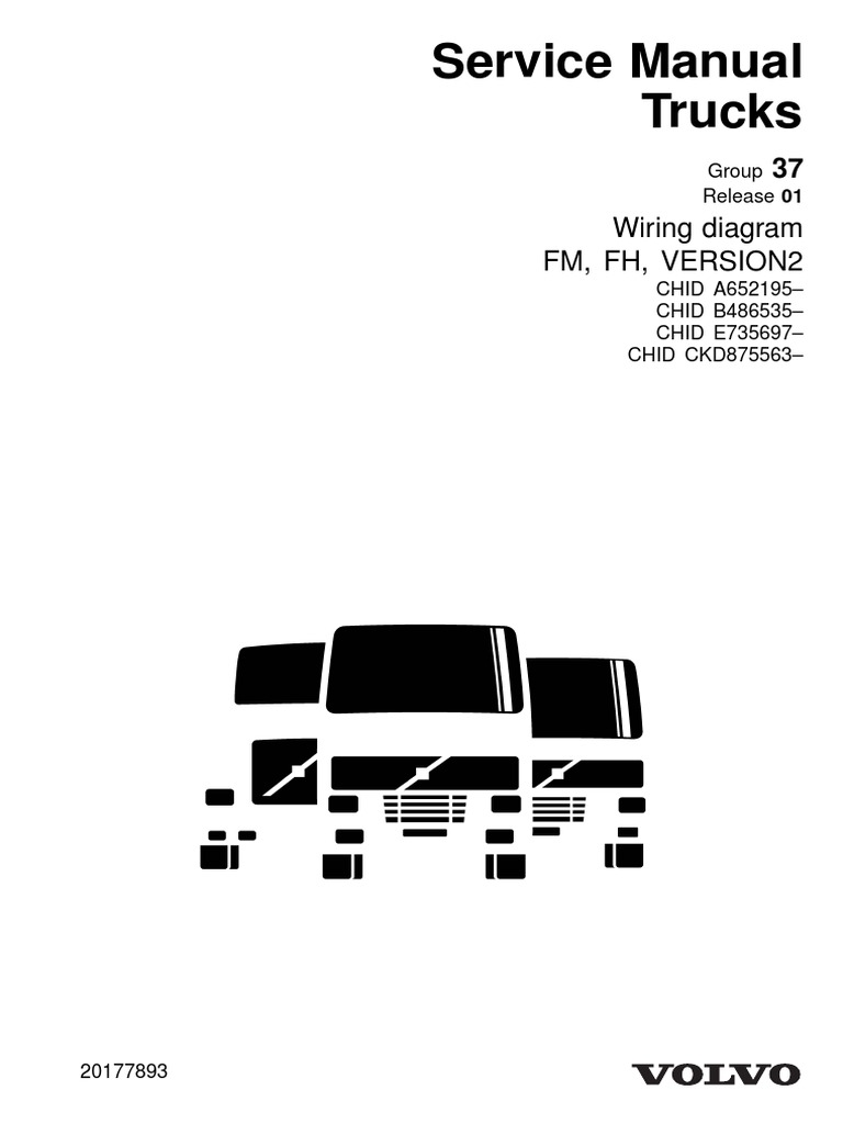 diagrama elctrico fh D13 2013.pdf | Electrical Connector | Electrical Wiring | Volvo D13 Wiring Diagram |  | Scribd