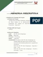 3.1 Memoria Descriptiva