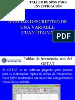 2. ANÁLISIS DESCRIPTIVO DE UNA VARIABLE CUANTITATIVA