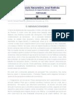 Sensacionismo - ESJE, Aveiro