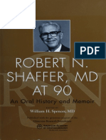Robert N. Shaffer, MD at 90