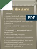 09 Los 10 Mandamientos