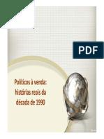 Politicos a Venda