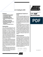 Atmel Avr Efficient c Coding