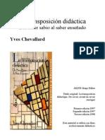 La Transposicion Didactic A- Chevallard_noPW
