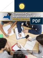 Common Core Implementation Panel 3-10-14