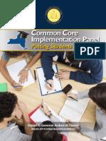 Common Core Implementation Panel 3-10-14