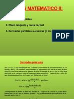 Derivadas Parciales y Regla de La Cadena Plano Tangente y Plsno Normal