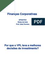 Finanças Corporativas - VPL e TIR