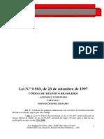 APOSTILA - Código de Trânsito Brasileiro - Anotado e Comentado 2005 - Israel de Moura Farias Júnior