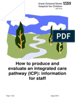 How to Produce and Evalua~d Care Pathway (ICP)
