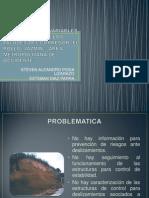 Analisis de Las Variables Hidraulicas de Los Taludes
