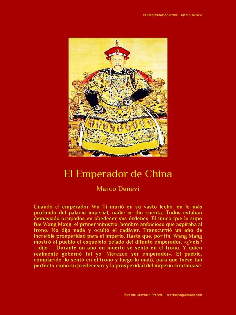 El Emperador de China– Marco Denevi