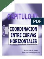 07_Coordinacion Entre Curvas Horizontales