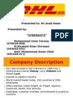 DHL presentationSYNERGY