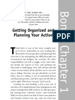 Getting Organized and Planning Your Action
