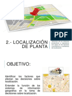 Localización de planta 1a