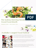The Sydney Morning Herald Good Food Month Category Information 2014