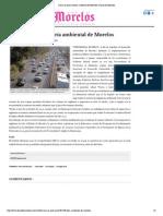 Crean la procuraduría ambiental de Morelos - Diario de Morelos