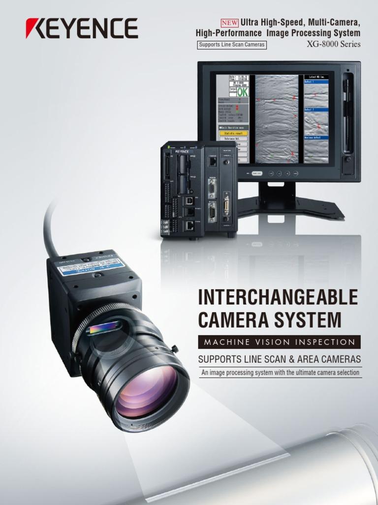2A KEYENCE CA-DC21E Visual system light source control