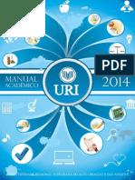 URI Manual Academico 2014