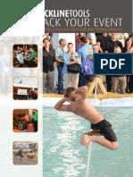 Slackline Tools - Slack Your Event