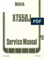 Yamaha XT550 Service Manual Ocr Small