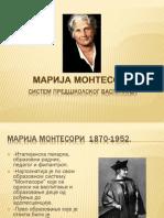 Marija Montesori