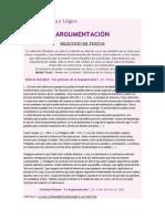 Argumentación y Lógica, Fragmentos