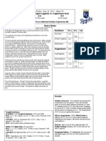 writing sample - lexington legends game notes