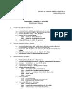 Examen de Grado Derecho Del Trabajo 2011