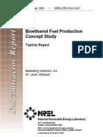 Bioethanol Fuel Production