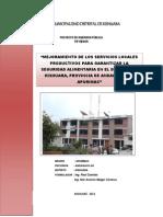 Proyecto de Inversión Pública
