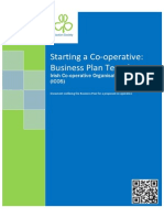 ICOS New Co Op Business Plan Template
