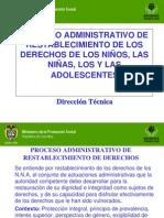Proceso Administrativo de Restablecimiento de Derechos