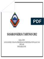 Sasaran Kerja Tahunan 2012 Muka Depan