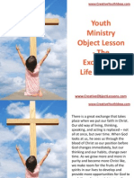 Youth Ministry Object Lesson - The Exchanged Life in Christ