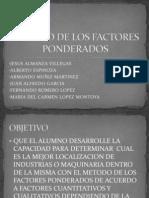 Equipo 1_Metodo de Los Factores Ponderados