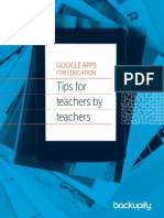 Google Apps for Education Tips for Teachers by Teachers