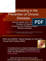 Breastfeeding in the Prevention of Chronic Diseases