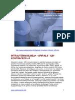 Intrauterini Ulozak - Spirala - Iud - Kontracepcija